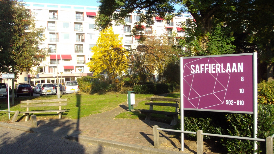 Nieuwe werkplek in De Saffier